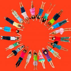 38523416 - children kids cheerful childhood diversity concept