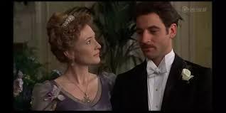 Mrs Cheveley blackmails Sir Robert
